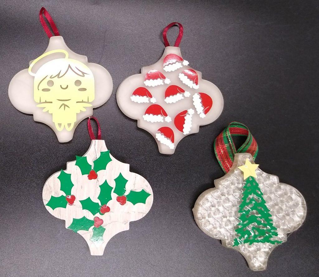 Decorating your Arabesque ornaments - medium sized