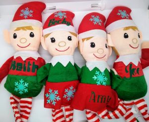 Making Personalized gifts - Christmas Elves