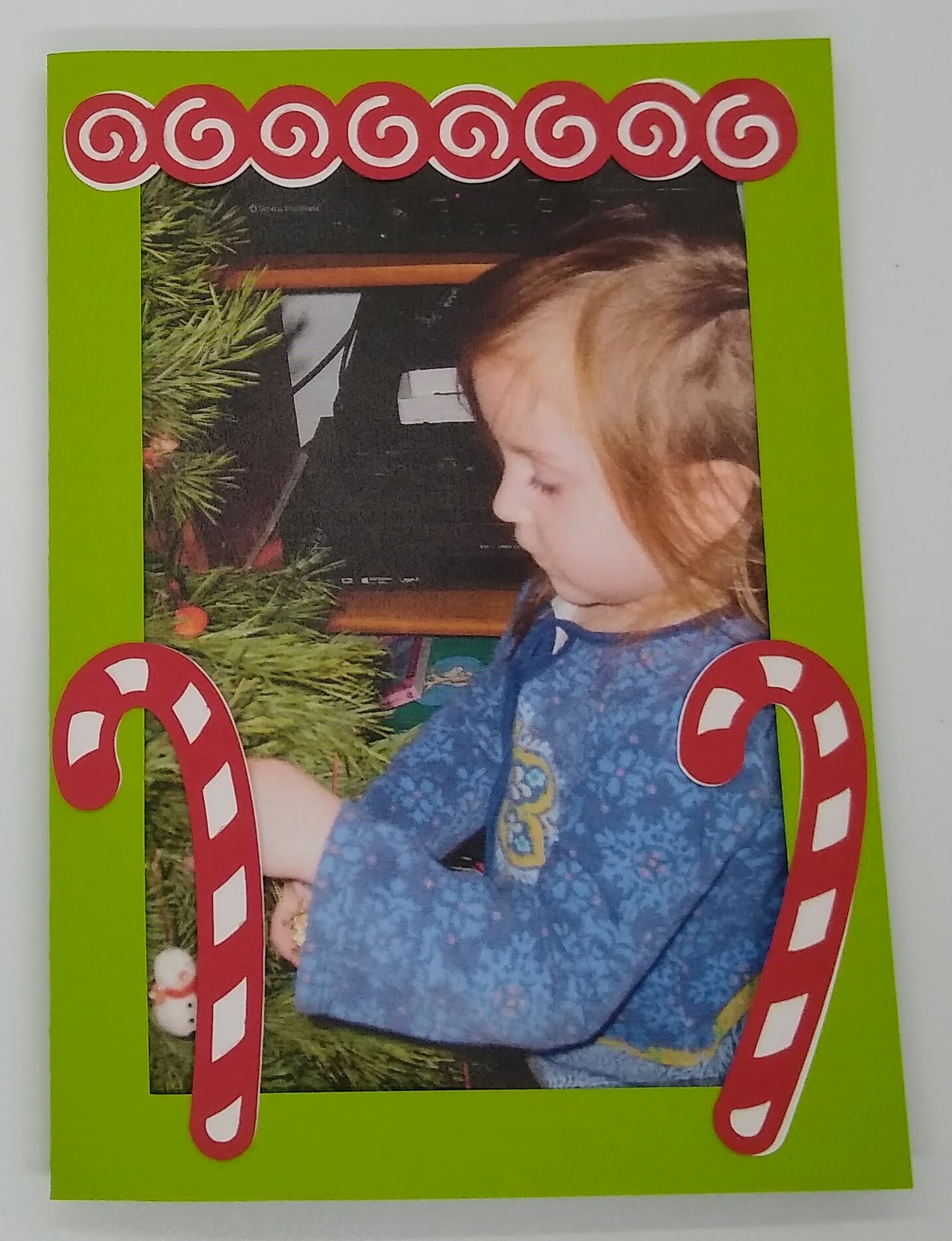 Christmas Thank You Card With Photo