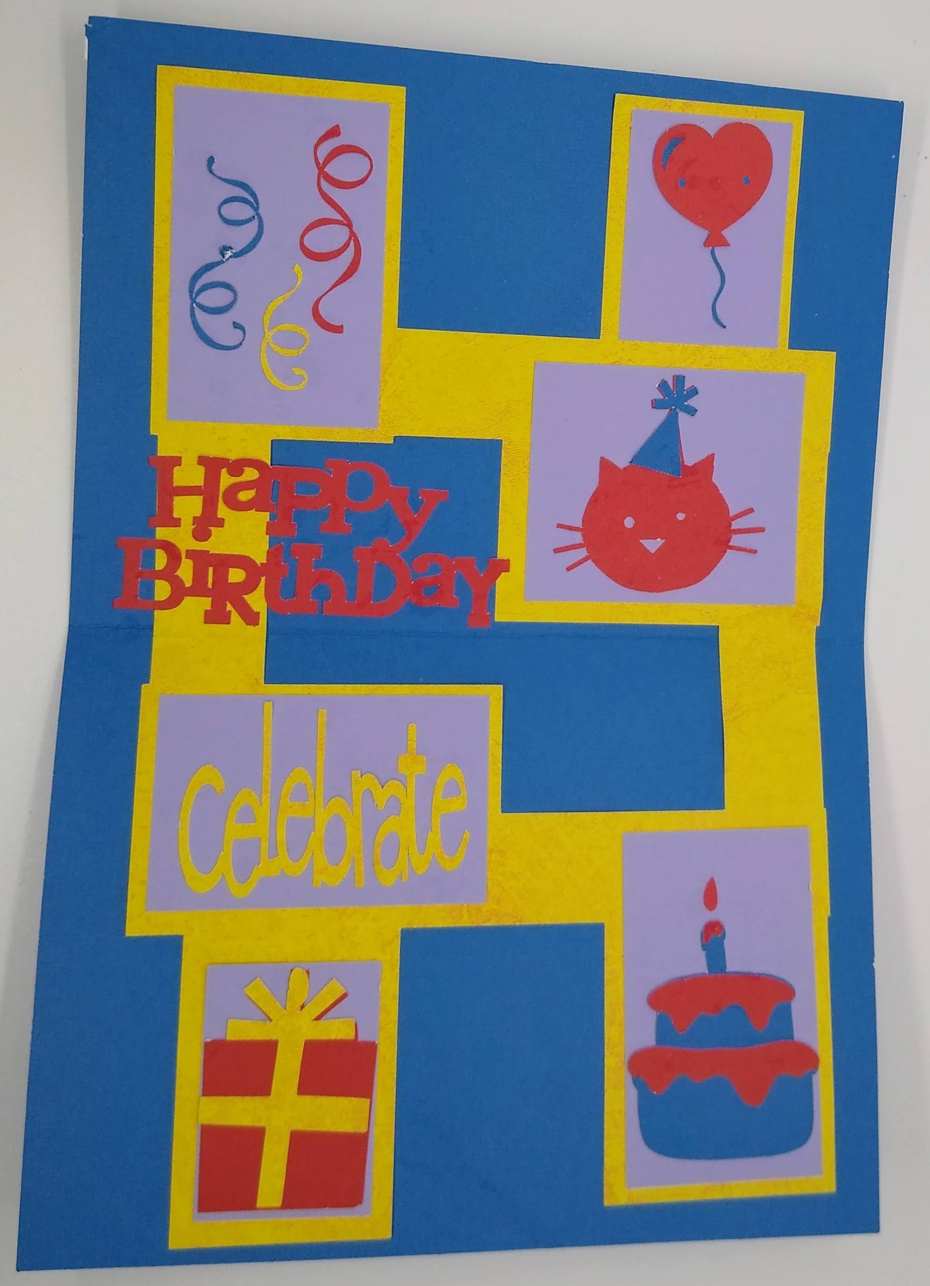 Tell Them Happy Birthday With This Frames Card