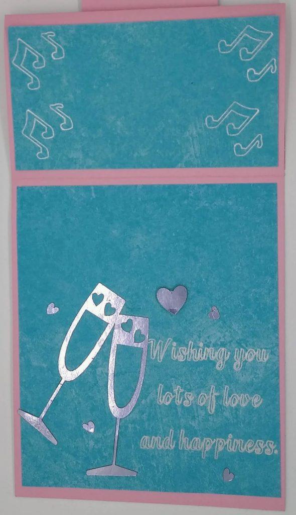 Wedding Easel Card details