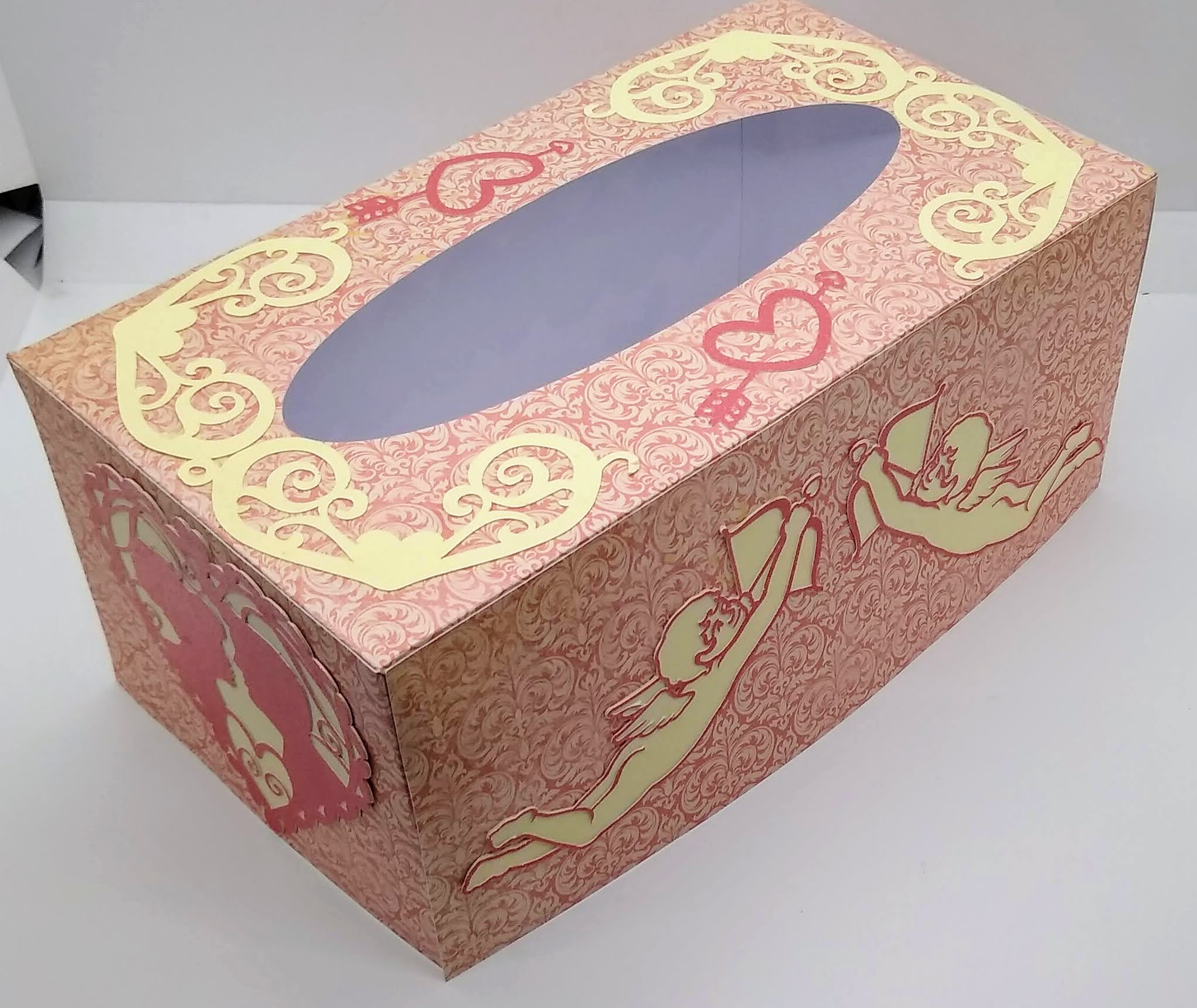 Make This Easy Valentines Tissue Box Cover