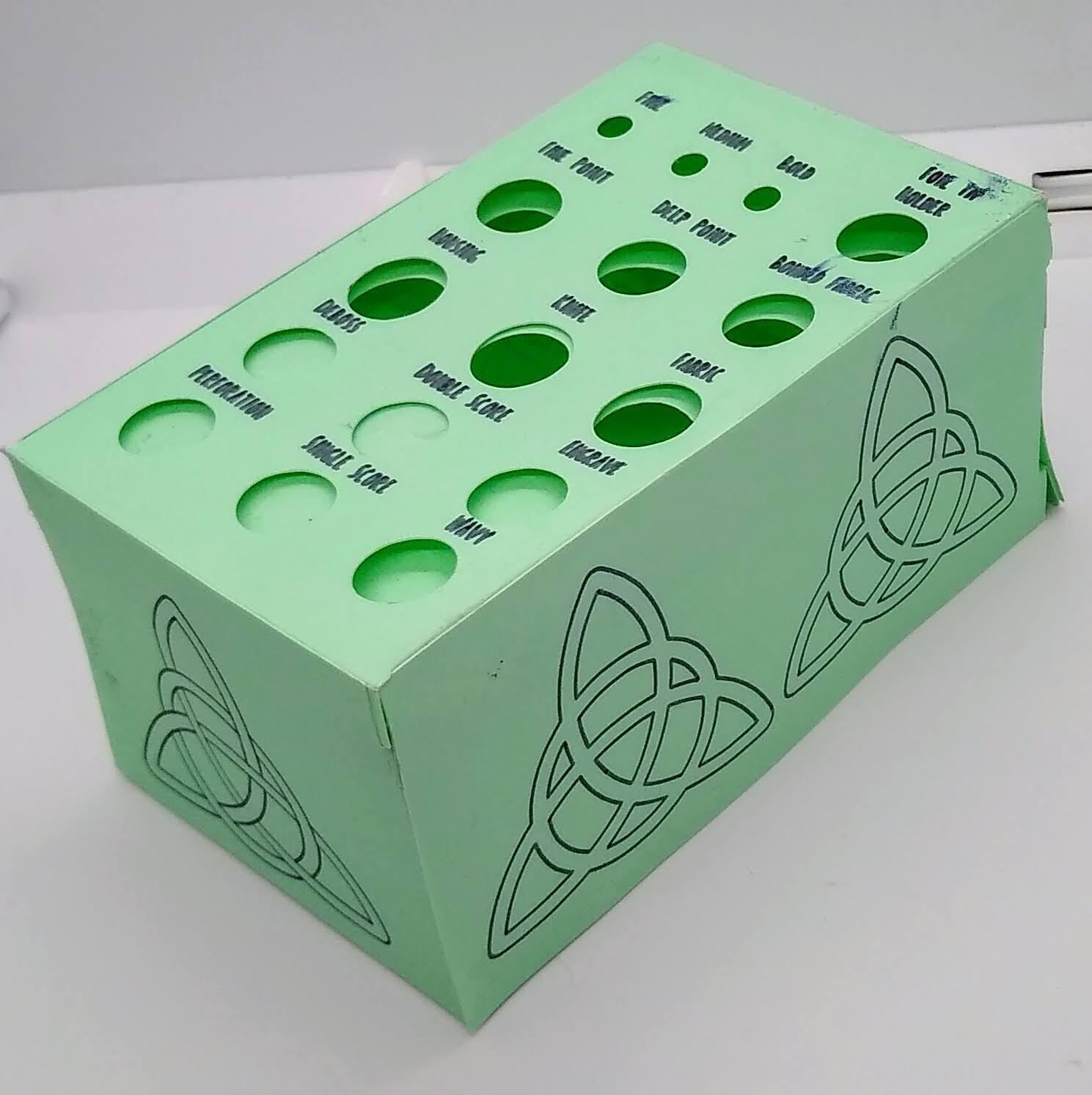 A Redesigned Blade Holder for Foiling Kit Tips