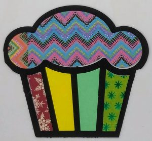 Cupcake Birthday Bling Embellishment