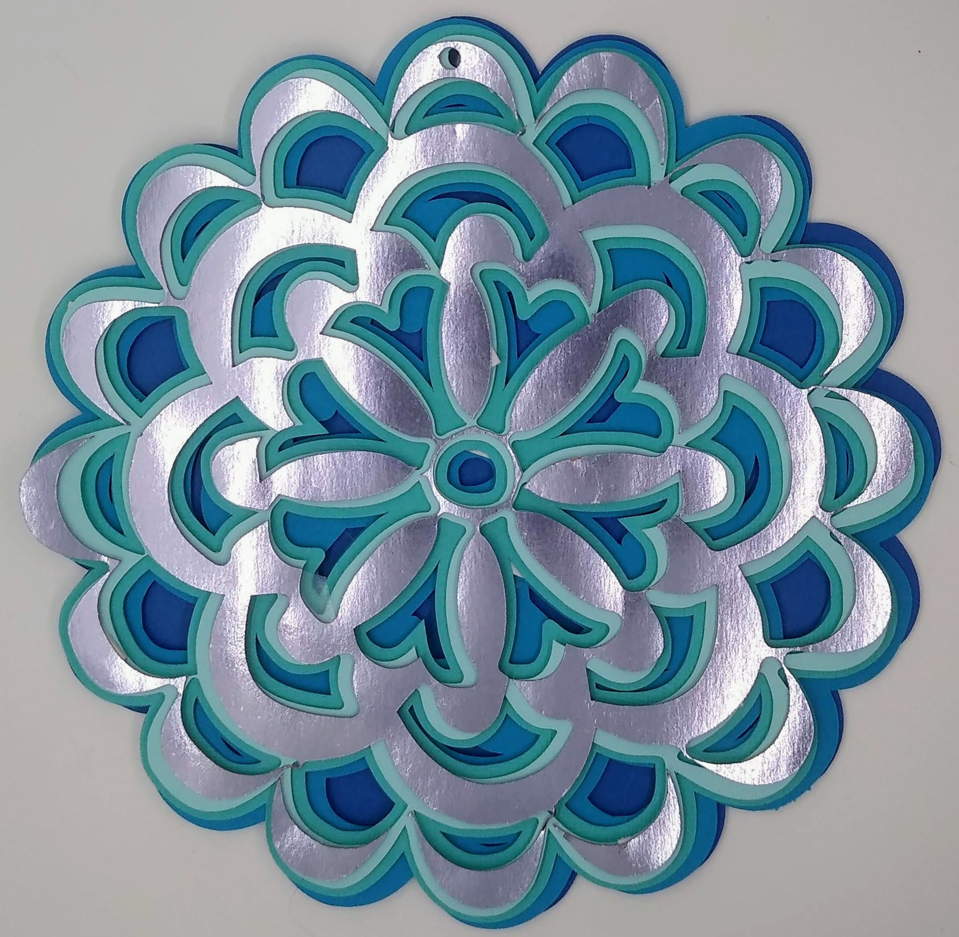 Flower Layered Mandala: Special Notes