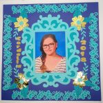 Make a Class Photo Scrapbook Page
