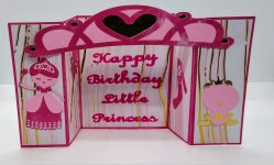 Try This Princess Birthday Bridge Card