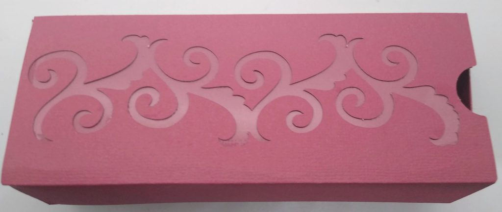 First of two gift boxes - oblong box