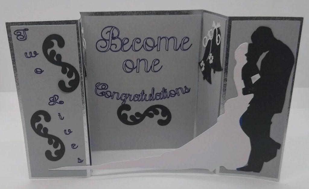 Wedding Bridge Card