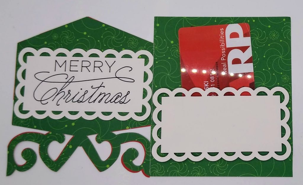 Card 2 for the gift card holders