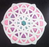 Learn A New Simple Layered Mandala Technique