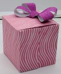 Make This Two Layer Gift Box With A Bow