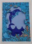 Dolphin Love Unique 3D Card To Make