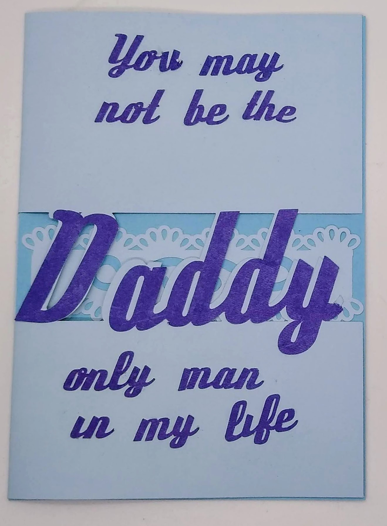 Daddy is Best Cut Out Card For Father\'s Day