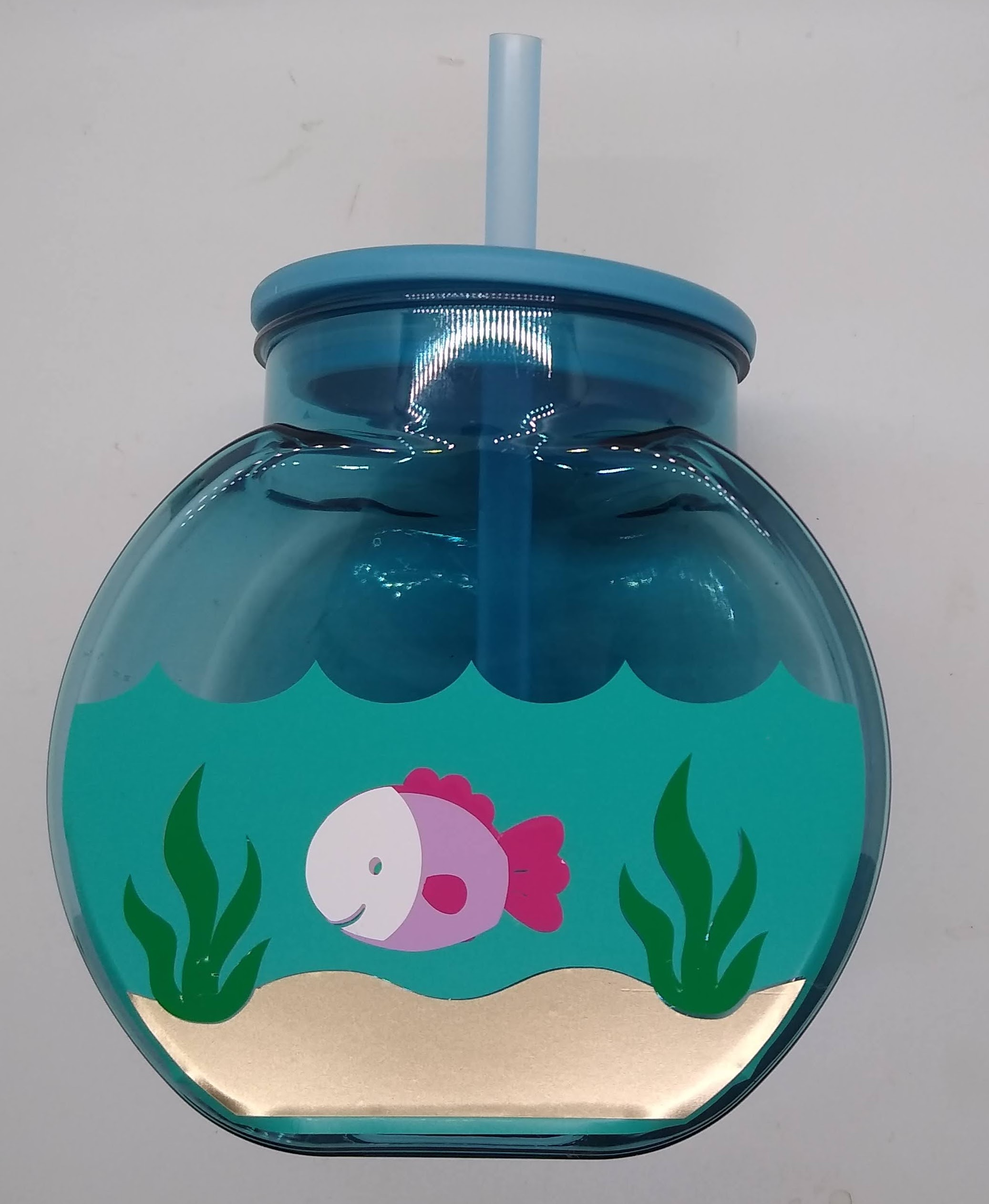 Decorated Fish Tank Drink Cup