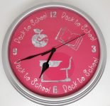 Back To School Clock for the Classroom