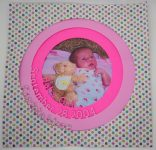 Make a Circular Baby Announcement
