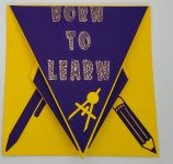 Make This Back to School Arrow Card