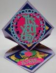 Diamond Easel Birthday Card To Make