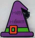 Witch Hat and Tombstone Halloween Treat Cups