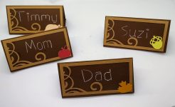 Make These Thanksgiving Place Cards