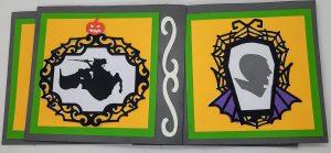 Halloween Pinwheel Card Side 7 & 8