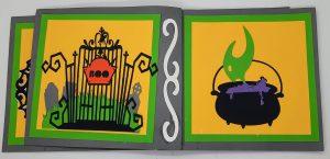Halloween Pinwheel Card Side 3 & 4