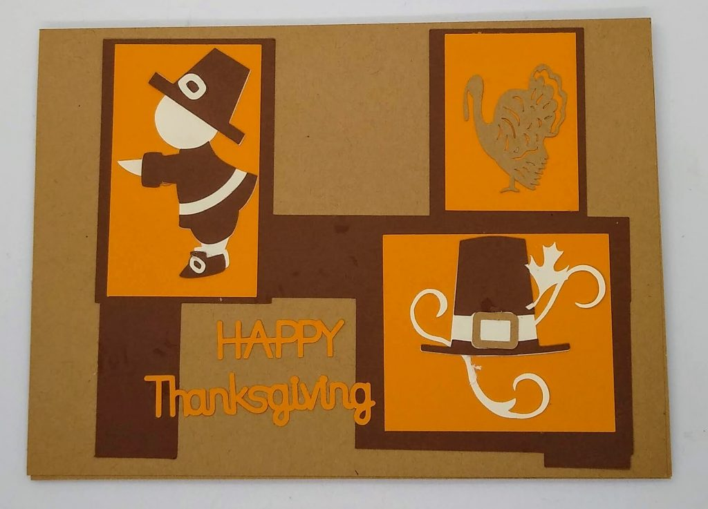 Front of Thanksgiving Frames Card