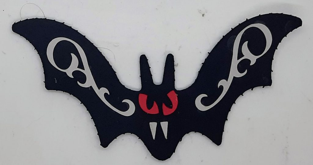 Bat Halloween Foam Sticker