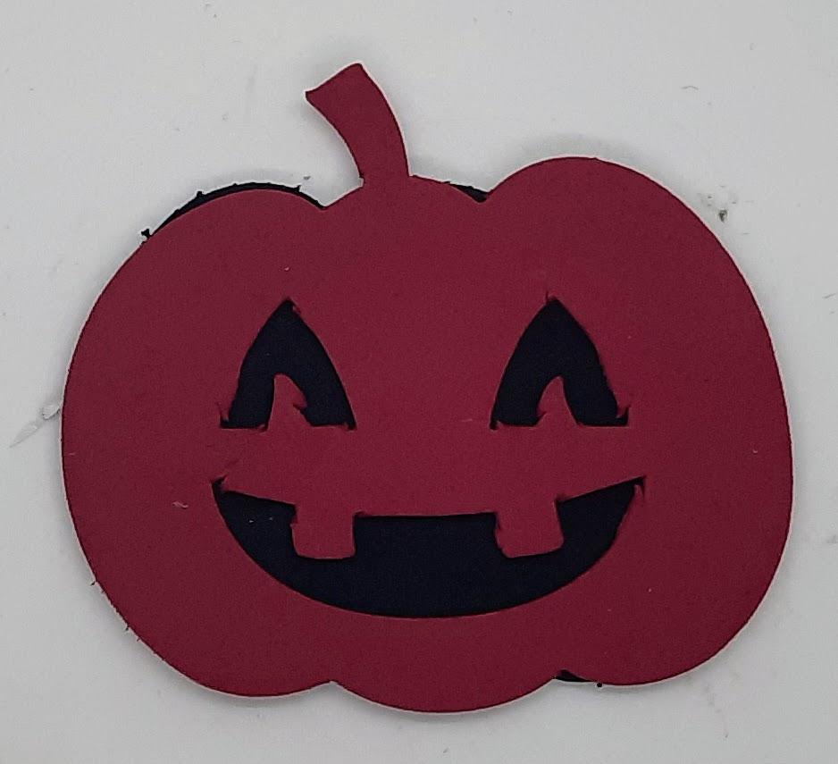 Pumpkin Halloween Foam Sticker