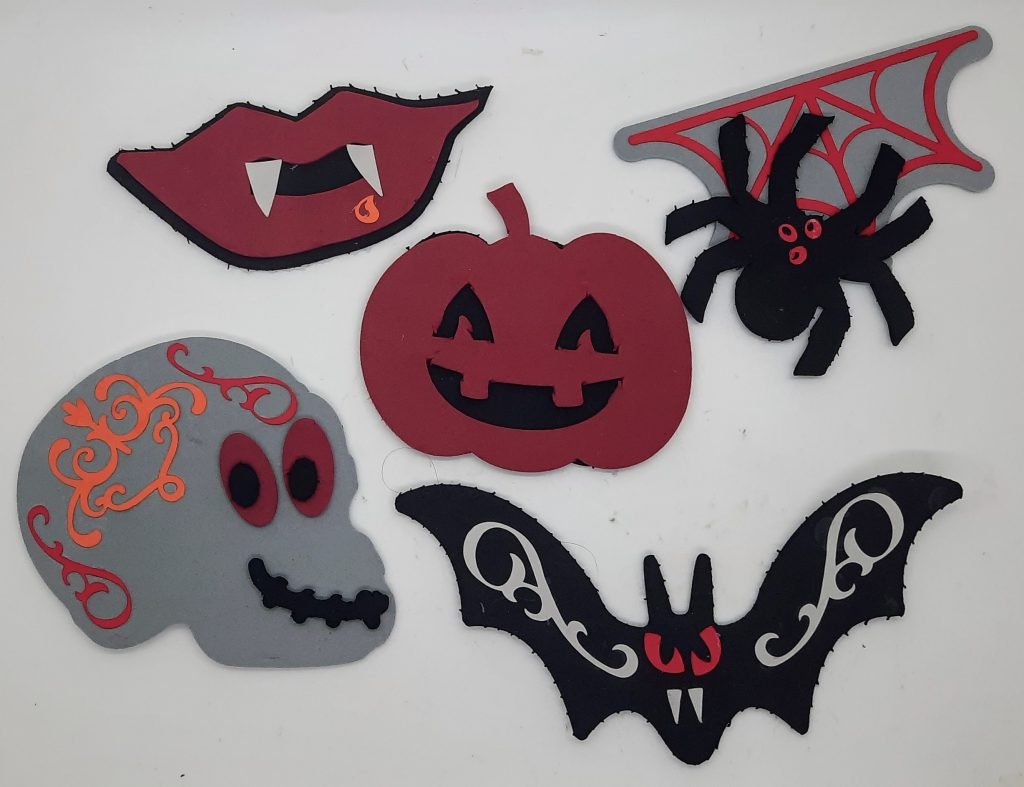 All the Halloween Foam Sticker