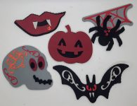Halloween Foam Stickers to Decorate Anything