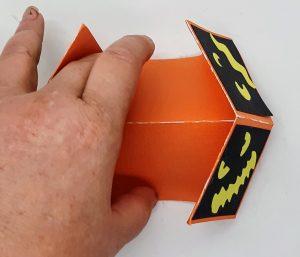 Folding the Halloween Double Diamond Card