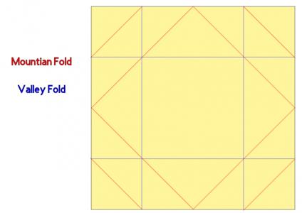 Fold Pattern Napkin Fold